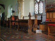 choir stalls with drop down seats
