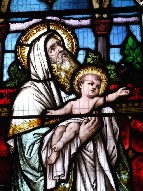 St Simeon and the Christchild