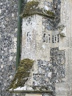 letters on a buttress