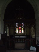 into the chancel