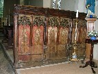 rood screen dado (south)