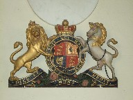 Victorian royal arms