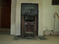 vestry fireplace