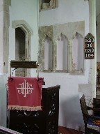 pulpit and niches