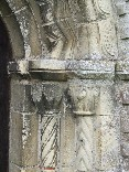 Norman north doorway (detail)