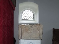 font and north doorway