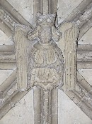 angel in the porch vaulting