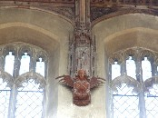 St Bartholomew and angel