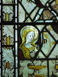 east window glass