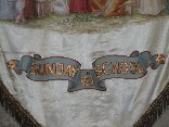 Sunday School banner (detail)
