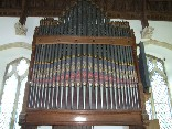 organ in the chancel