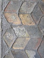 Icklingham All Saints: medieval tiles