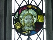 roundel in the east window